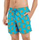 Men Classic Embroidered - Men Swim Trunks Embroidered Crabs - Limited Edition, Curacao supp1
