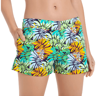 Women Others Printed - Women Swim Short Jungle, Midnight blue supp1