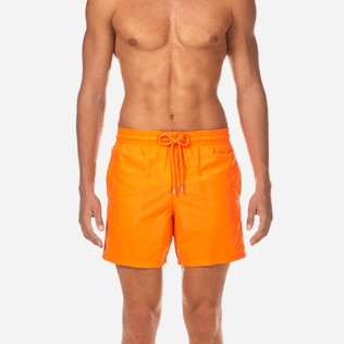 Men Classic / Moorea Printed - Water-reactive Danse du feu Swim shorts, Papaya supp1