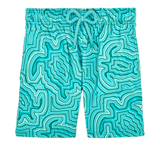 Boys Others Printed - Boys Stretch Swimwear Hypnotic Turtles, Curacao front