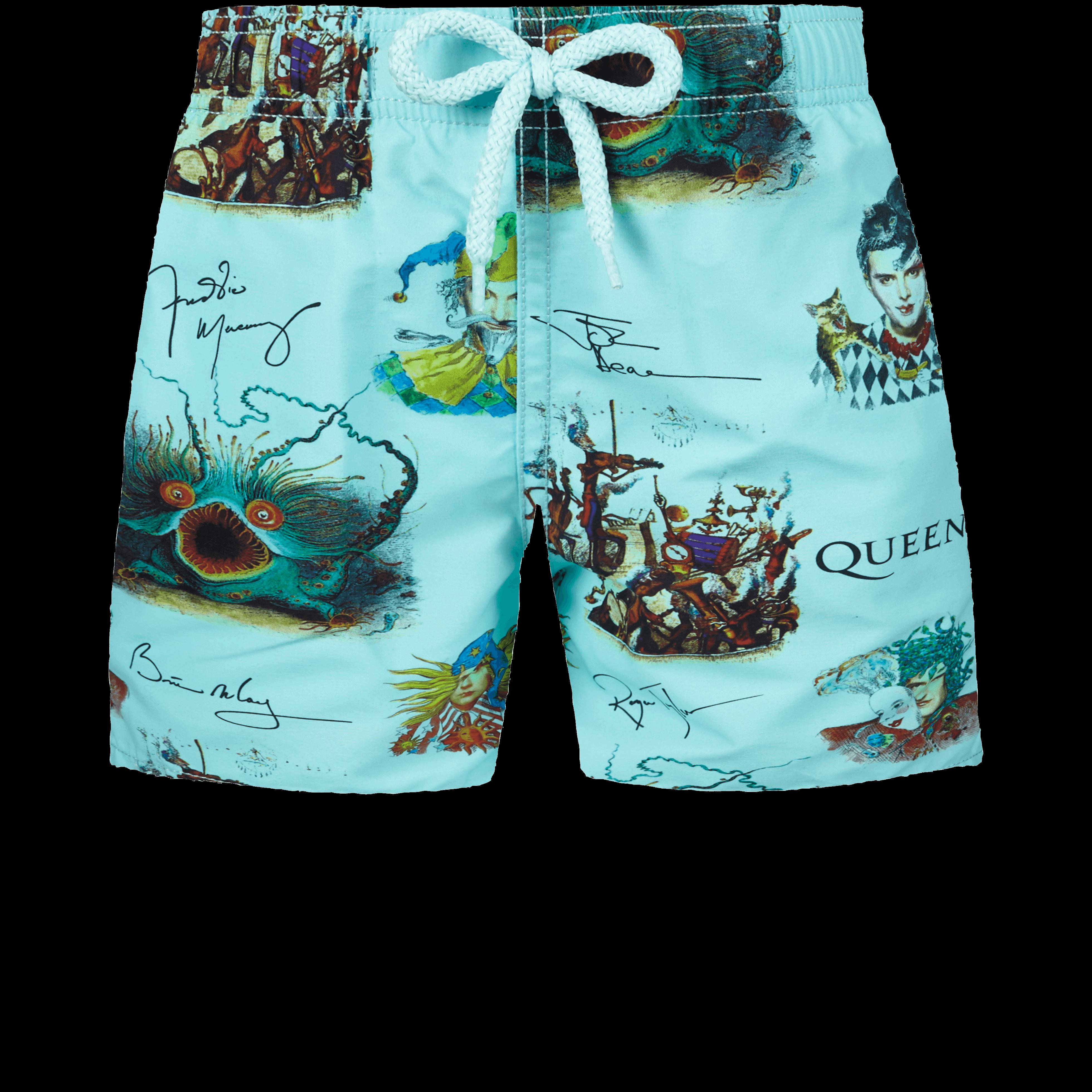 VILEBREQUIN | Boys Swimwear - Boys Swimwear Joker Queen - SWIMMING TRUNK - JIM - Blue - 14 - Vilebrequin | Goxip