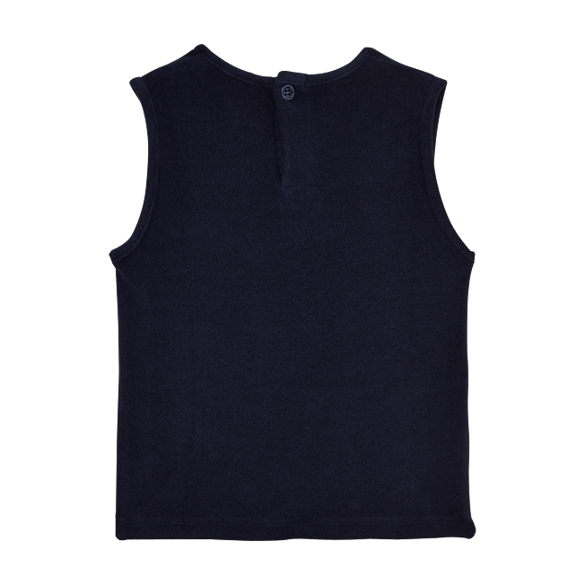Vilebrequin - Girls Tank Top in Terry Cloth Solid - 2