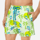 Men Classic Printed - Men Swim Trunks Surfing Turtles, Aloe supp1