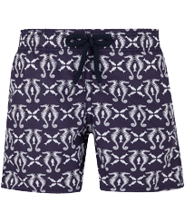 Boys Others Printed - Boys Swim Trunks Hippocampes, Midnight blue front