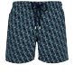 Men Classic Embroidered - Men Swim Trunks Embroidered Nataraja - Limited Edition, Sapphire front