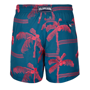 Men Embroidered Embroidered - Men Swimtrunks Embroidered Palmiers - Limited Edition, Spray back