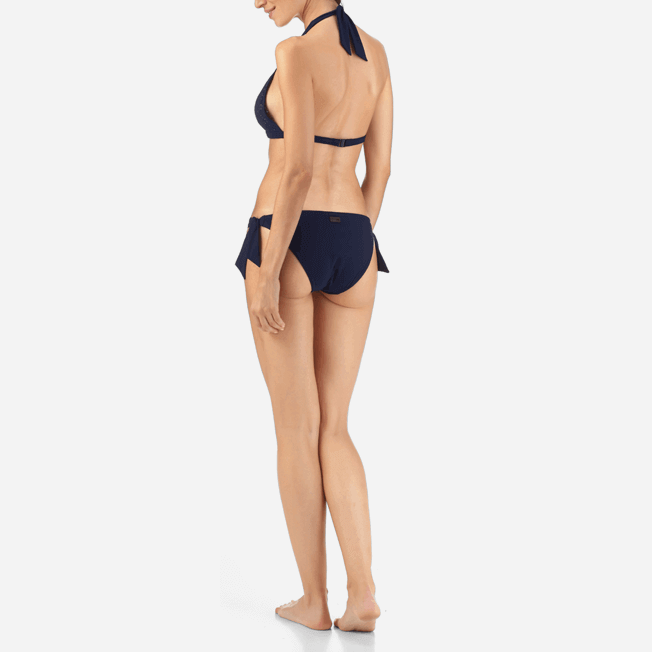 Vilebrequin - Micro Ronde des Tortues Triangle shape bikini top - 3
