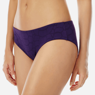Women Classic brief Solid - Women covering brief bikini Bottom Ecailles de Tortue, Reddish purple supp1