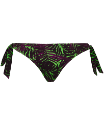 Women Classic brief Printed - Women Bikini Bottom Brief to be tied Madrague, Grass green front