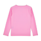 Others Printed - Kids Long Sleeves Rashguards Solid, Pink back