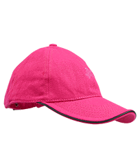 Others Solid - Unisex Cap Solid, Shocking pink front