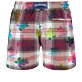 Men Ultra-light classique Graphic - Men Swim Trunks Ultra-light and packable Carreaux & Turtles, Multicolor back