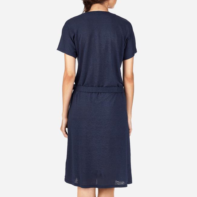 Vilebrequin - Solid Linen Wrap-Around Dress - 6