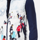 Others Printed - Unisex Reversible Sleeveless Down jacket Massimo Vitali, Sky blue supp1
