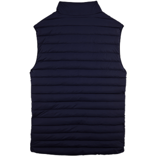 Others Printed - Sleeveless Doudoune Micro ronde des tortues, Navy back
