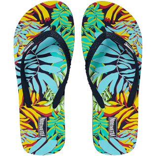 Mujer Autros Estampado - Women Flip Flops Jungle, Midnight blue front