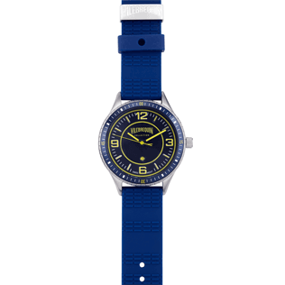 Others Solid - Stripped 43mm Watch, Navy front