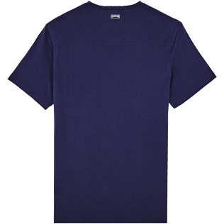 Men Others Solid - Men Pima Cotton Jersey T-Shirt Solid, Navy back