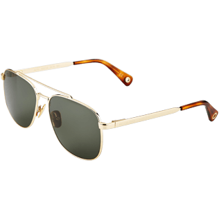 Others Solid - Unisex Sunglasses Khaki Mono Auto, Dore back