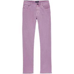 Men Others Solid - Men 5-Pocket Velvet Pants Regular fit, Cyclamen front