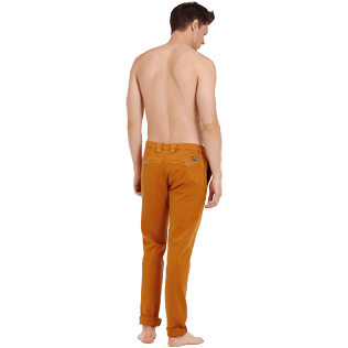 Men Others Solid - Men Chino Pants, Turmeric backworn
