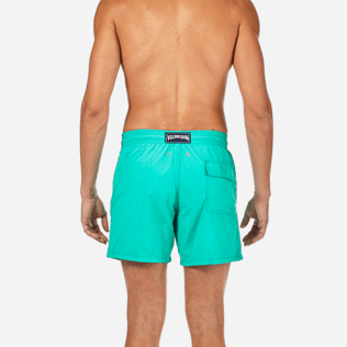 Men Classic Printed - Water-reactive Sardines à l'Huile Swim shorts, Veronese green supp2