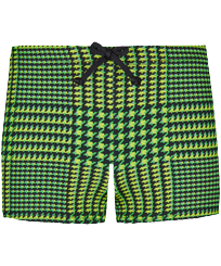 Boys Others Printed - Boys Swim Trunks Boxer cuts Crocros, Grass green front