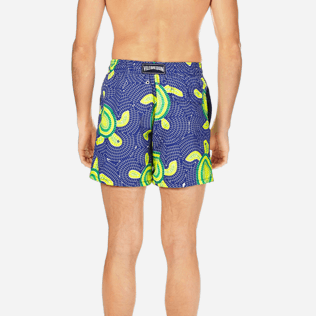 Men Classic Printed - Men Swimtrunks Mosaic Turtles, Neptune blue supp2