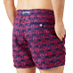 Men Classic Embroidered - Men Swim Trunks Embroidered Hippocampes - Limited Edition, Midnight blue supp1