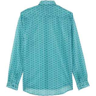 Others Printed - Unisex Cotton Shirt Ancre De Chine, Seychelles back