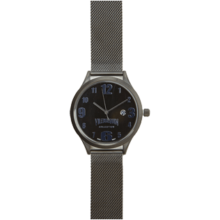 Others Solid - Metal Mesh Watch, Black front