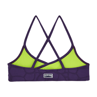 Girls Others Solid - Girls bikini Top Ecailles de Tortue, Reddish purple back