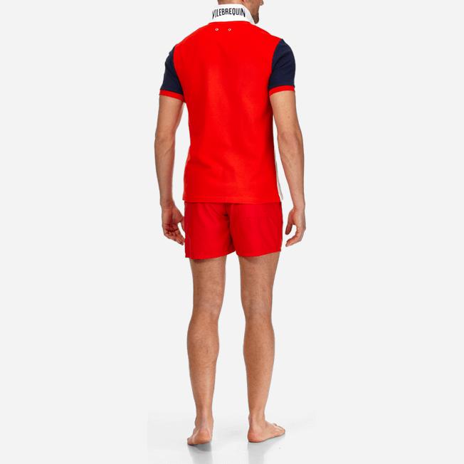 Vilebrequin - Polo en Piqué de Coton Homme Multicolore - 8