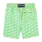 Boys Others Printed - Micro Turtles Hawaï Swim Shorts, Veronese green back