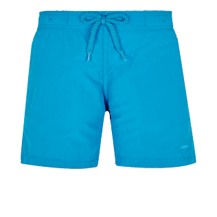 Boys Others Printed - Boys Swim Trunks Water-Reactive Origami Turtles, Hawaii blue front