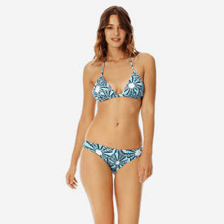 Women Classic brief Printed - Women midi brief bikini Bottom Oursinade, Navy frontworn