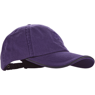 Caps AND Hats Solid - Kids Cap Solid, Amethyst front