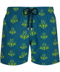 Men Classic Printed - Men Swim Trunks Pranayama, Goa front
