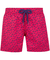 Boys Others Printed - Boys Swimwear Micro ronde des tortues, Gooseberry red front