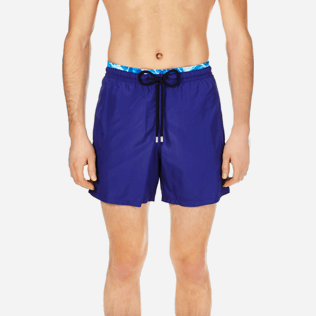 Men Ultra-light classique Solid - Men Lightweight and Packable Swimwear Solid and Splash, Neptune blue supp1