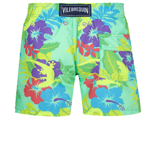 Boys Others Printed - Boys Swim Trunks Les Geckos, Cardamom back