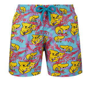 Boys Others Printed - Boys Ultra-Light and packable Swimwear Sydney - Web Exclusive, Tropezian blue front