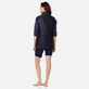 Others Solid - Unisex Sleeveless Down Jacket Solid, Navy supp4
