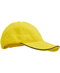 Others Solid - Unisex Cap Solid, Lemon front