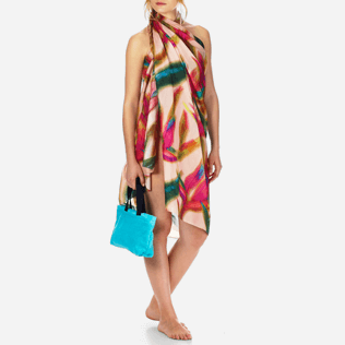 Women Others Printed - Pareo Paradise 3D, Nude frontworn