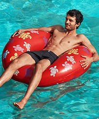 Others Printed - Inflatable Buoy Ronde des Tortues, Poppy red frontworn