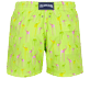 Hombre Corte Largo Estampado - Men Swimwear Stretch Giaco Elephant, Coriander back