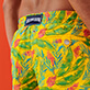 Men Classic Embroidered - Men Swimwear Embroidered Leaves in the wind - Limited Edition, Safran supp1