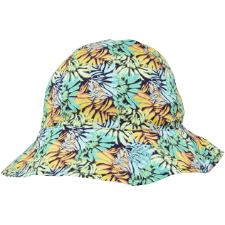 Autros Estampado - Gorras con estampado Jungle para niños, Midnight blue front