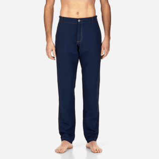 Men Others Solid - Indigo Pants, Indigo supp1